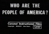 Still frame from: Who Are the People of America?
