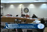 Still frame from: Zoning Board of Appeals March 7, 2013