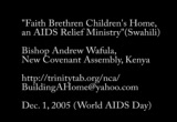 Still frame from: Faith Brethren Children's Home, an AIDS Ministry (Swahili)