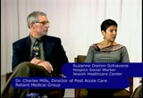 Still frame from: Beacon Hill Chat #101 Dr Charles Mills and Suzanne Doiron-Schiavone