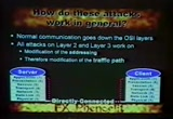 Still frame from: Black Hat Europe 2001 Video