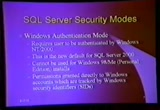 Still frame from: Black Hat Windows 2001 Video