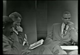 Still frame from: Malcolm X