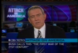 Still frame from: CBS Sept. 13, 2001 2:08 pm - 2:50 pm