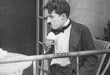 Still frame from: Collectie Filmcollectief - Charlie Chaplin - Scene of 'The Adventurer'