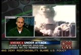 Still frame from: CNN Sept. 11, 2001 8:36 pm - 9:18 pm