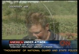 Still frame from: CNN Sept. 11, 2001 10:41 pm - 11:23 pm