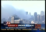 Still frame from: CNN Sept. 13, 2001 7:21 am - 8:03 am