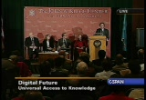 Still frame from: Brewster Kahle speaks at the Library of Congress