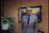 Still frame from: [Ronald Reagan presidential campaign ad labeled 'Jimmy Stewart']