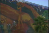 Still frame from: Mission District murals San Francisco, interview with Rene Yanez