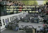 Still frame from: Shocking and Awful: Channels of War - The Media is the Military