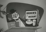 Still frame from: Baker's 4-in-1 Cocoa Mix, 1950s (dmbb04421)