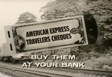 Still frame from: American Express Travelers Cheques, 1960s (dmbb09719)