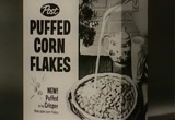 Still frame from: Post: Puffed Corn Flakes Cereal, 1960s (dmbb16010)