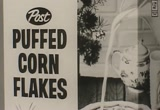 Still frame from: Post: Puffed Corn Flakes Cereal, 1960s (dmbb34524)