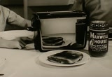 Still frame from: Maxwell House: Instant Maxwell House Coffee, 1950s (dmbb40725)