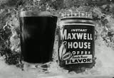 Still frame from: Maxwell House: Instant Maxwell House Coffee, 1950s (dmbb40810)