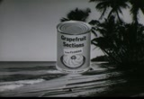 Still frame from: Florida Citrus: Canned Grapefruit Sections, 1950s-1960s (dmbb43624)