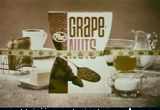 Still frame from: Post: Grape-Nuts Cereal, 1960s-1970s (dmbb45043)
