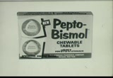 Still frame from: Norwich: Pepto-Bismol Chewable Tablets, 1960s (dmbb45303)