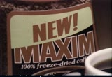 Still frame from: General Foods: Maxim Instant Coffee, 1970s (dmbb46719)