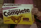 Still frame from: General Foods: Gaines Complete Dog Food, 1970s-1980s (dmbb47337)
