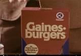 Still frame from: General Foods: Gaines-Burgers, 1970s (dmbb47456)