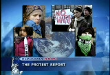 Still frame from: Democracy Now! Friday, March 21, 2003