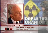 Still frame from: Democracy Now! Monday, April  5, 2004
