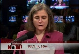 Still frame from: Democracy Now! Wednesday, July 14, 2004