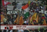 Still frame from: Democracy Now! Thursday, October 14, 2004