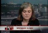 Still frame from: Democracy Now! Friday, November 19, 2004