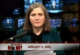 Still frame from: Democracy Now! Thursday, January  6, 2005