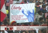Still frame from: Democracy Now! Thursday, March 10, 2005