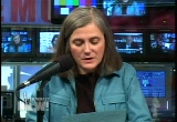 Still frame from: Democracy Now! Tuesday, May 10, 2005