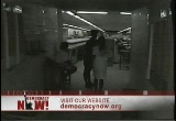 Still frame from: Democracy Now! Tuesday, May 17, 2005