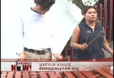 Still frame from: Democracy Now! Thursday, July 14, 2005