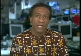 Still frame from: Democracy Now! Monday, August 01, 2005
