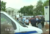 Still frame from: Democracy Now! Tuesday, September 27, 2005