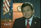 Still frame from: Democracy Now! Thursday, November 03, 2005