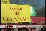 Still frame from: Democracy Now! Wednesday, March 29, 2006