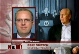 Still frame from: Democracy Now! Wednesday, December 27, 2006