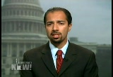 Still frame from: Democracy Now! Tuesday, September 25, 2007