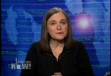 Still frame from: Democracy Now! Thursday, January 24, 2008