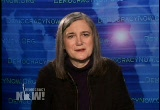 Still frame from: Democracy Now! Monday, February 18, 2008