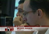 Still frame from: Democracy Now! Friday, October 10, 2008