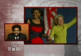 Still frame from: Democracy Now! Wednesday, November 19, 2008