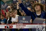 Still frame from: Democracy Now! Thursday, November 20, 2008