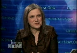 Still frame from: Democracy Now! Tuesday, November 25, 2008